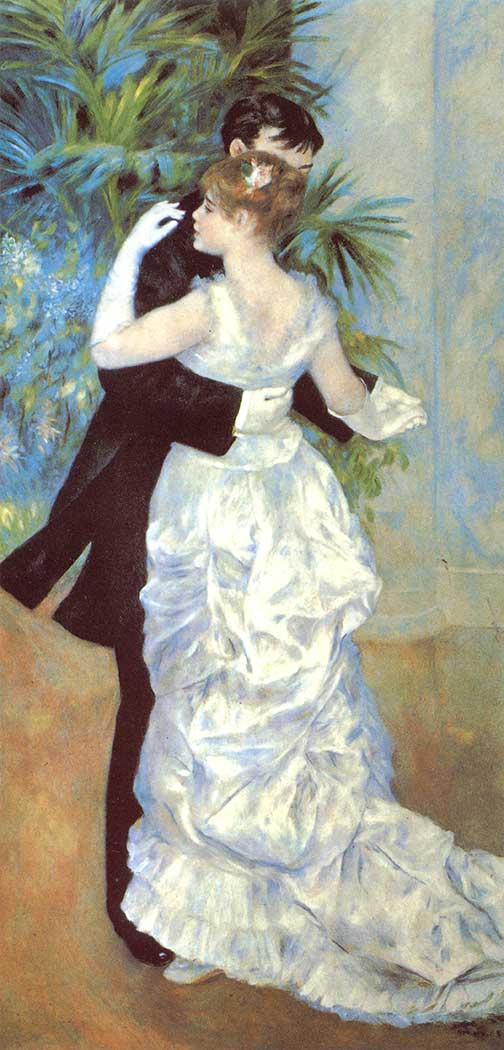 Pierre Auguste Renoir Şehir Dansı