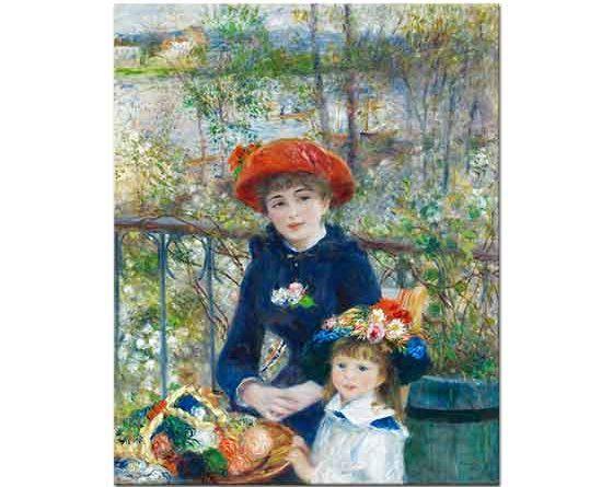 Pierre Auguste Renoir Terasta