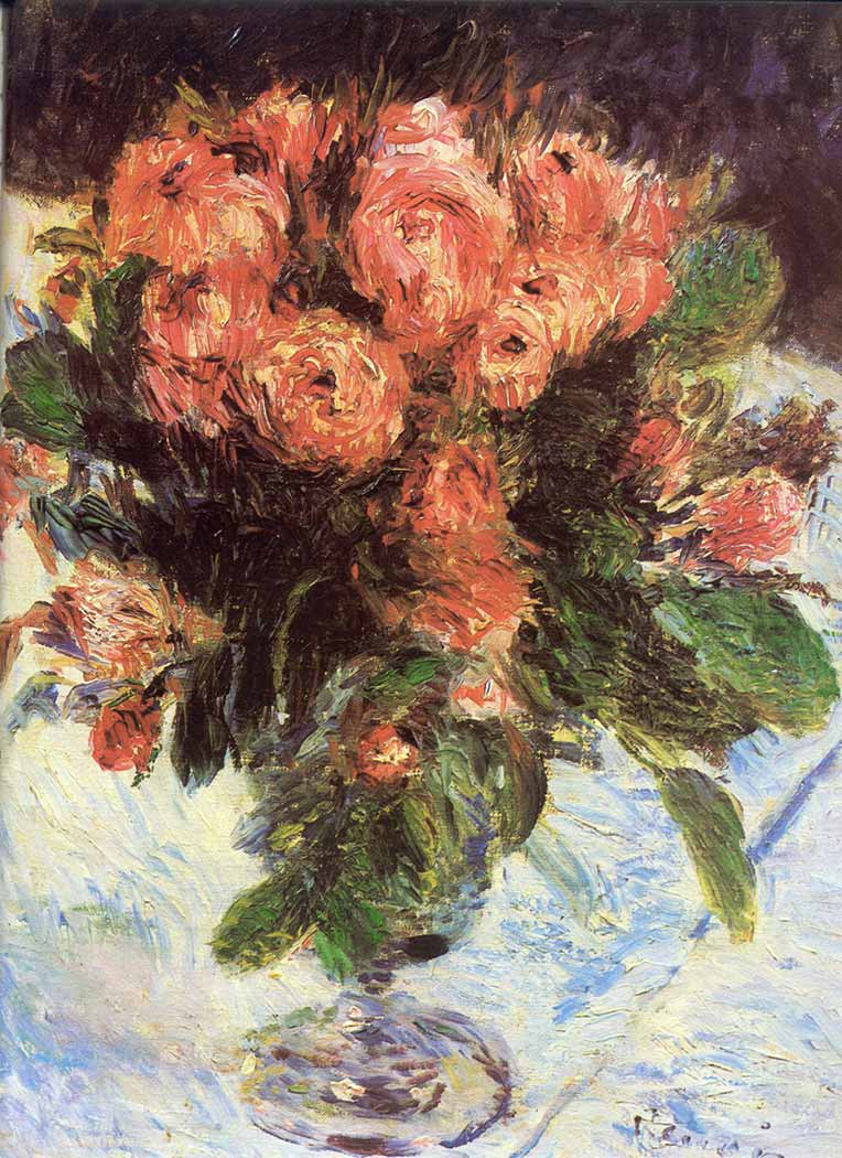 Pierre Auguste Renoir Vazodaki Çiçekler