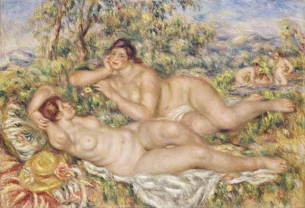 Pierre Auguste Renoir Yıkanan Kadınlar
