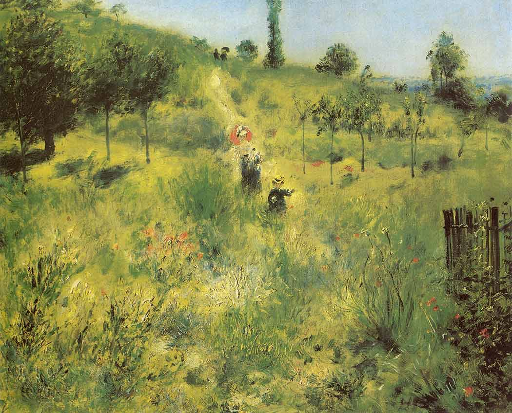 Pierre Auguste Renoir Yükselen Patika