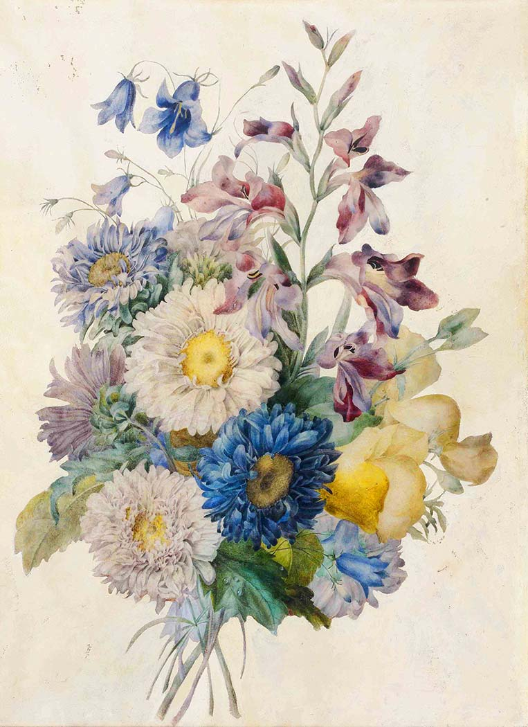 Pierre Joseph Redoute Çiçek Buketi