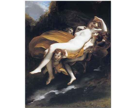 Pierre Paul Prud'hon Psyche Cennete Götürülürken