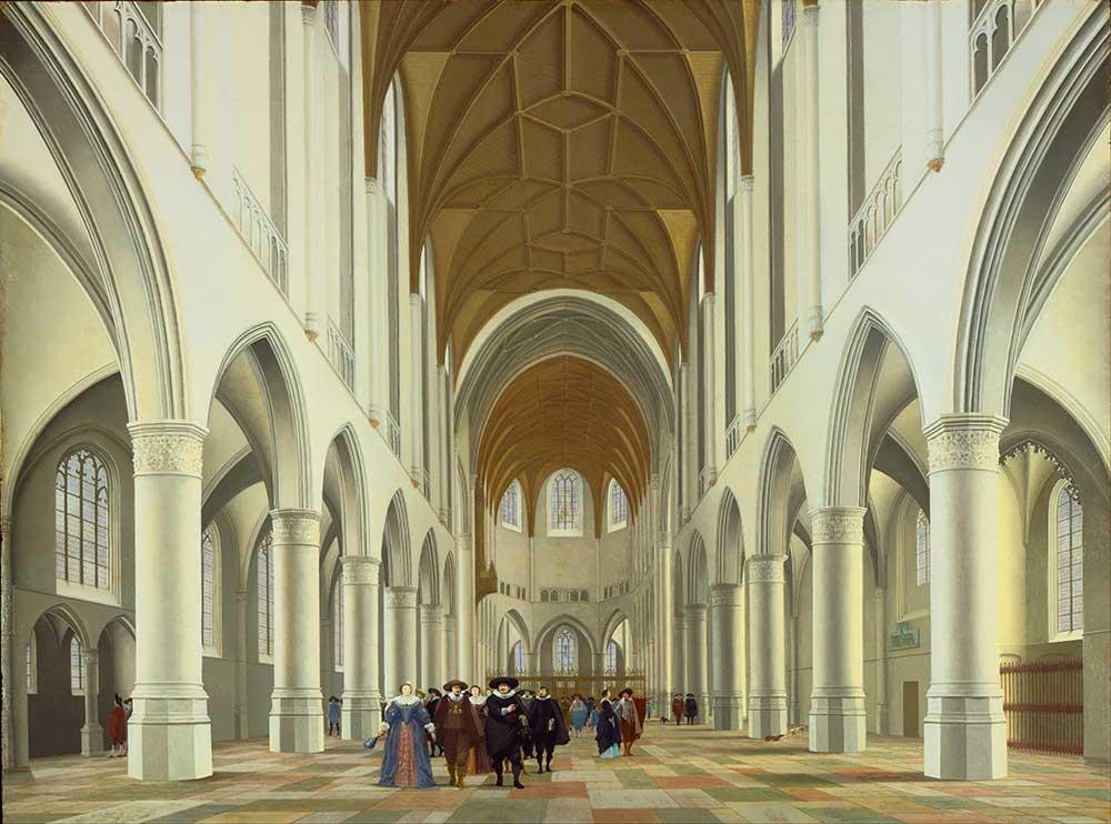 Pieter Janszoon Saenredam Saint Bavo içi Haarlem