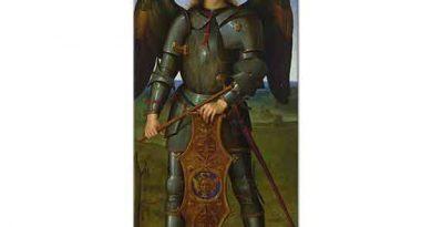 Pietro Perugino Başmelek Mikail