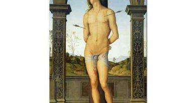 Pietro Perugino Saint Sebastian İdam Edilirken