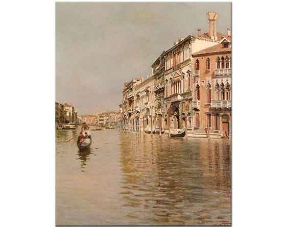 Raffaele Tafuri Grand Kanal Venedik