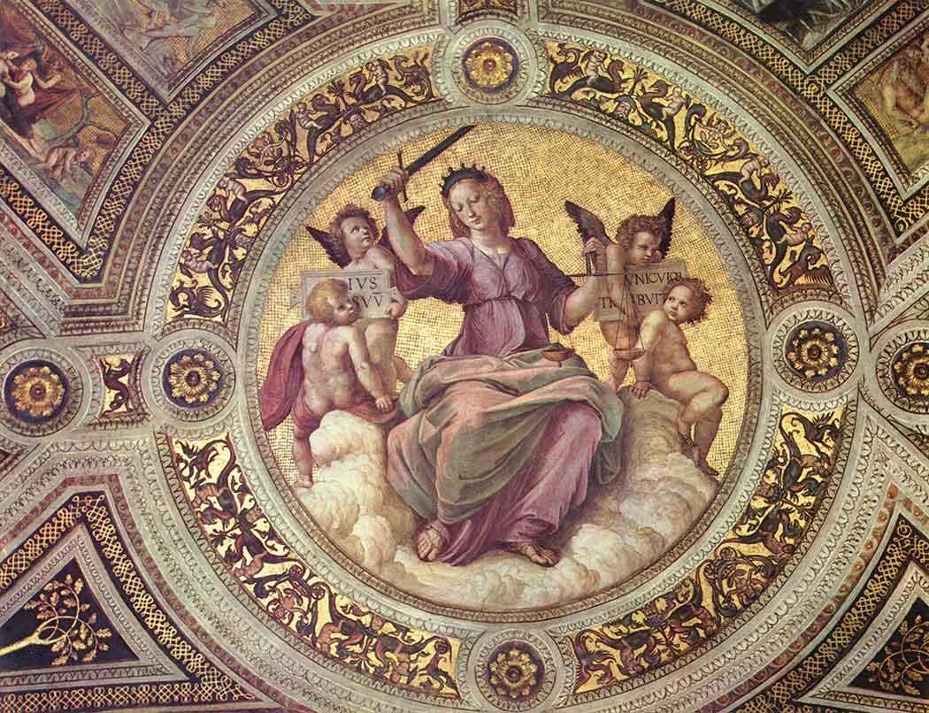 Sanzio de Urbino Raphael Adalet