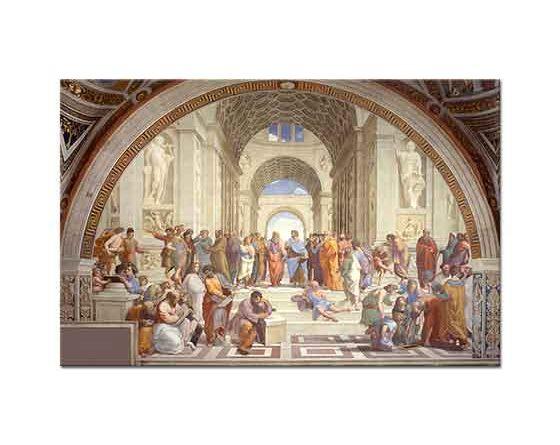 Sanzio de Urbino Raphael Atina Okulu