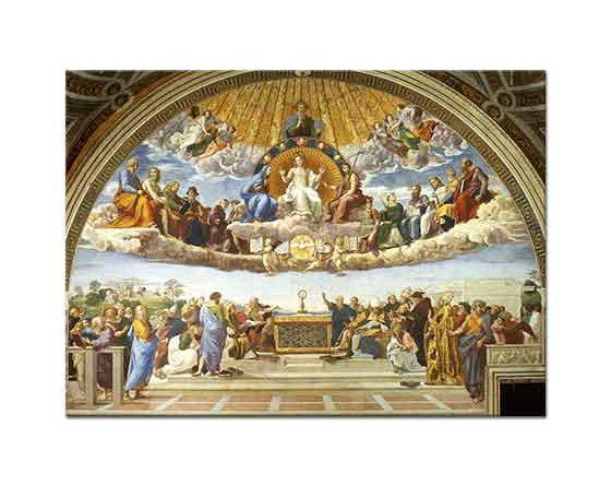 Sanzio de Urbino Raphael Aziz Altars'ın Zaferi