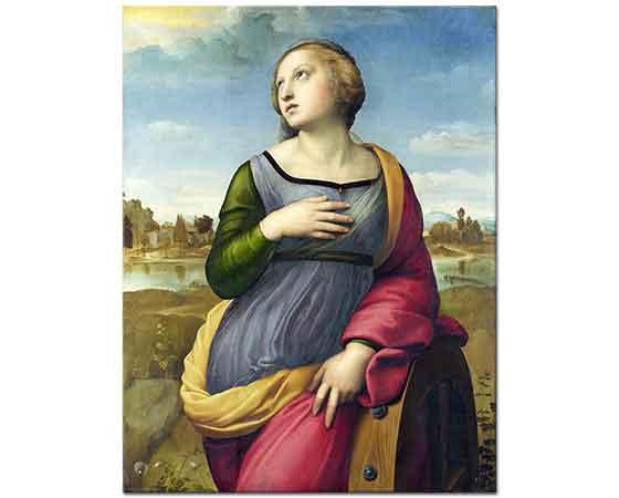 Sanzio de Urbino Raphael Azize Katharina Alexandria