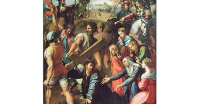 Sanzio de Urbino Raphael Çarmıha Geriliş