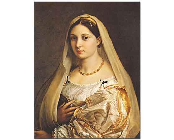 Sanzio de Urbino Raphael Donna Velata