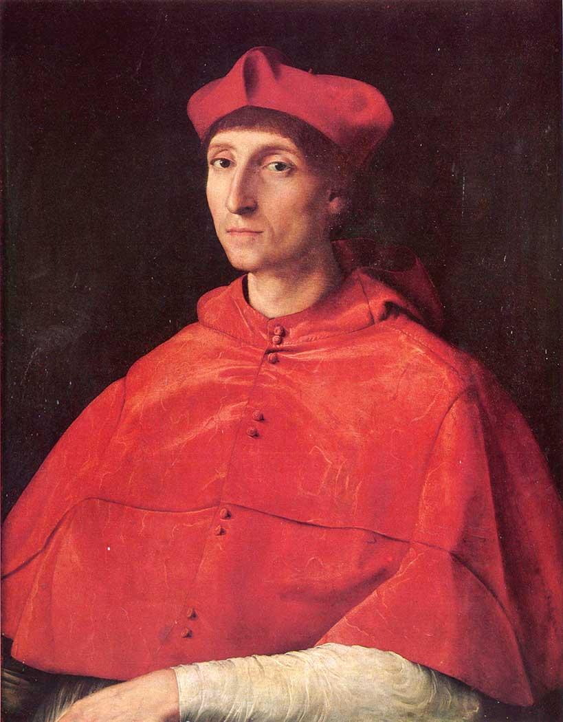 Sanzio de Urbino Raphael Kardinal
