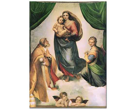 Sanzio de Urbino Raphael Kutsal Meryem