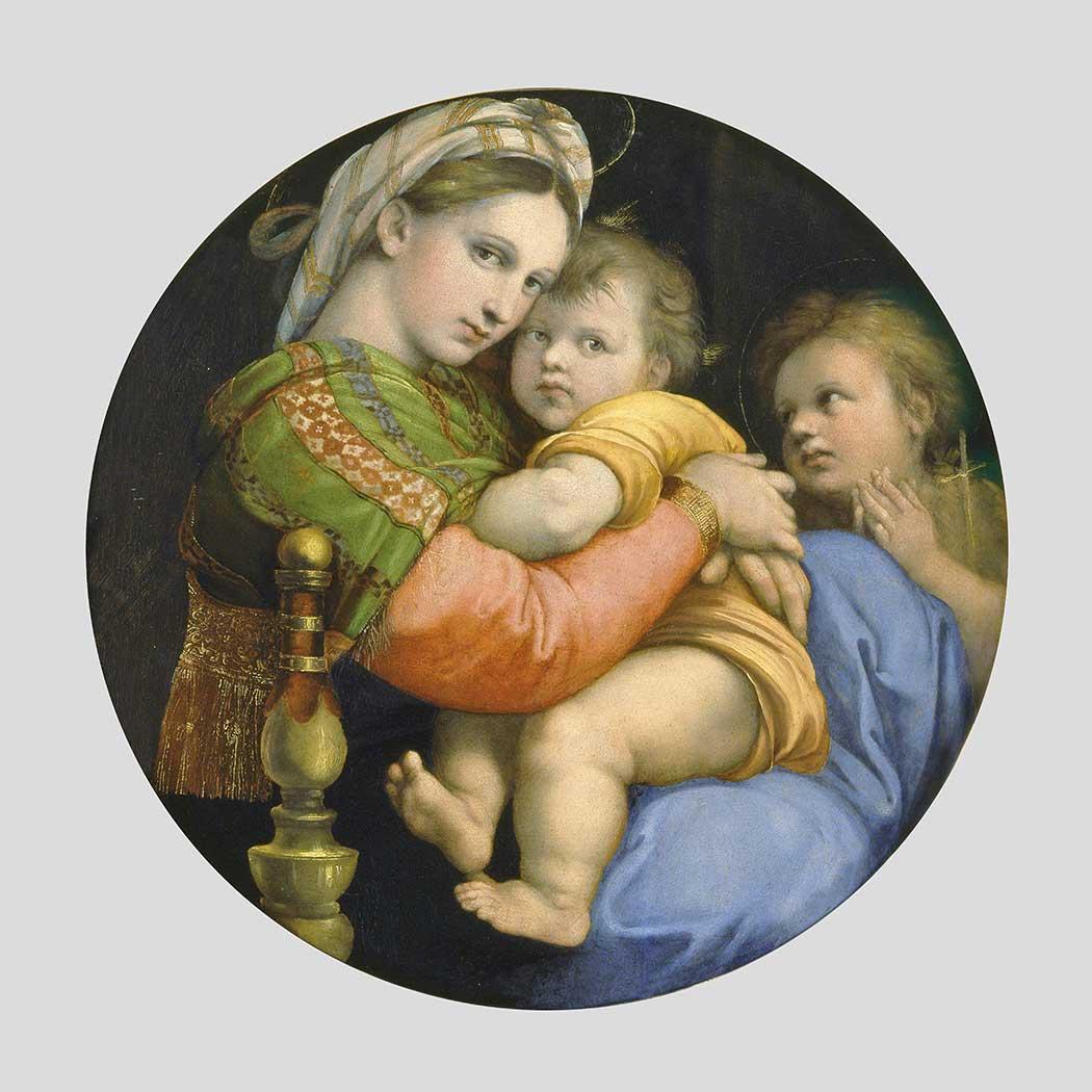 Sanzio de Urbino Raphael Madonna