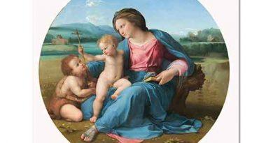 Sanzio de Urbino Raphael Madonna ile
