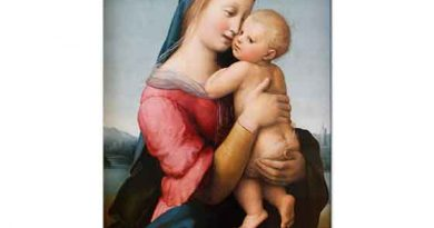 Sanzio de Urbino Raphael Meryem ile Çocuk Isa