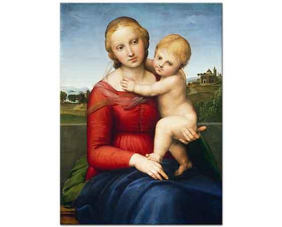 Sanzio de Urbino Raphael Meryem ve Çocuk Isa