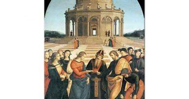 Sanzio de Urbino Raphael Meryem'in Nikahı