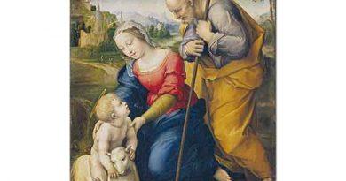 Sanzio de Urbino Raphael Mısır'a Kaçış