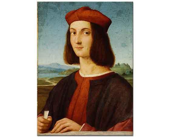 Sanzio de Urbino Raphael Pietro Bembo'nun Portresi