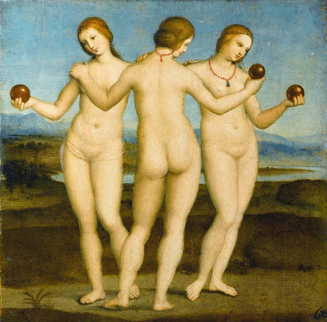Sanzio de Urbino Raphael Üç Güzel