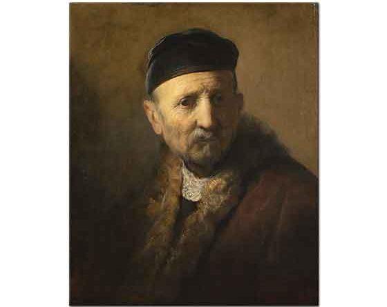 Rembrandt Adam Portresi Etüdü