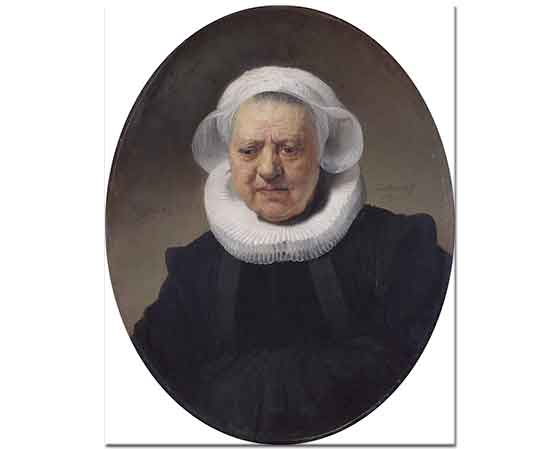 Rembrandt Aechje Claesdr'in Portresi