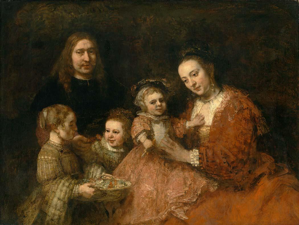 Rembrandt Aile Portresi