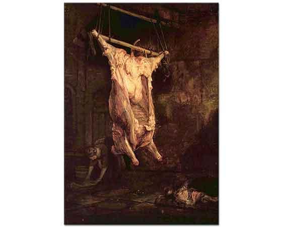 Rembrandt Asılı Sığır