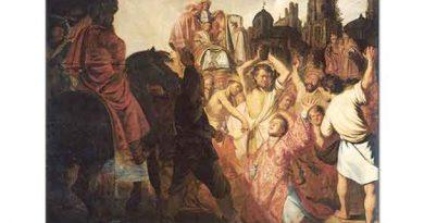 Rembrandt Aziz Stephen'in Taşlanması