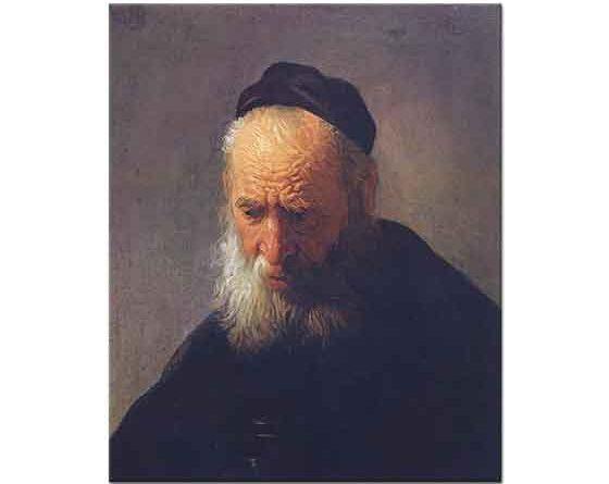 Rembrandt Babasının Portresi