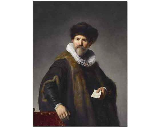 Rembrandt Bir Dostunun Portresi