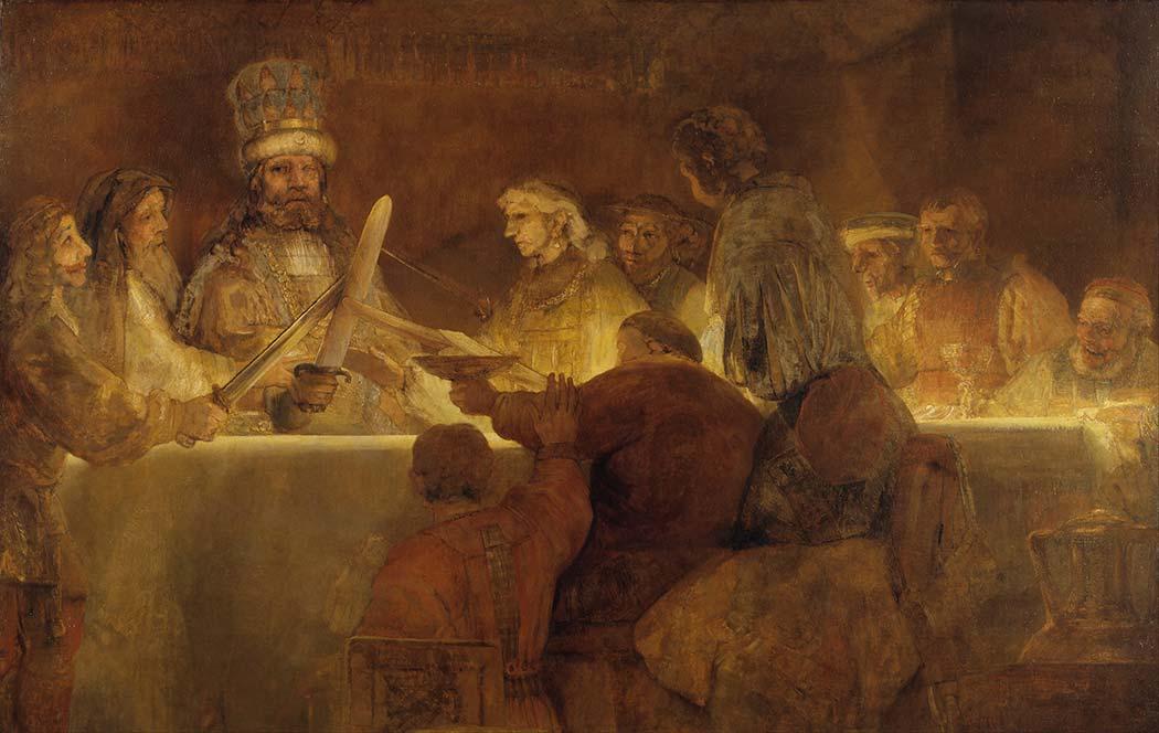 Rembrandt Claudius Civilis'in Komplosu
