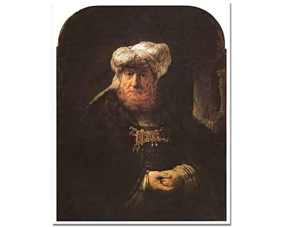 Rembrandt Cüzzam Hastalığına Yakalanan Kral Uzziah