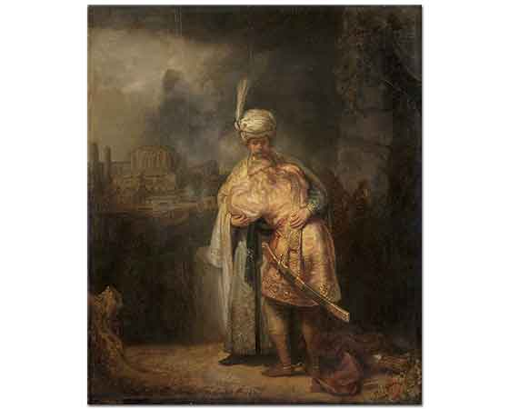 Rembrandt David ve Jonathan