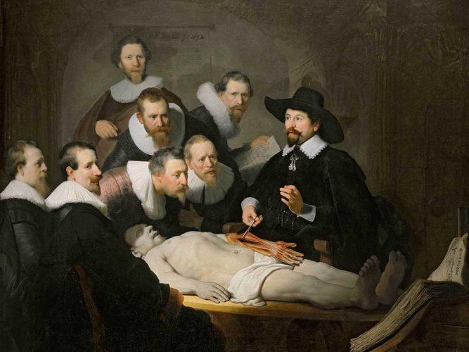 Rembrandt Dr Tulp'un Anatomi Dersi