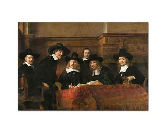Rembrandt Esnaf Loncasından Memurlar