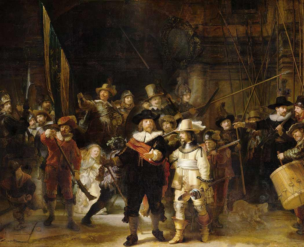 Rembrandt Gece Nöbeti