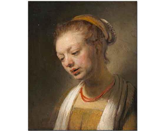 Rembrandt Genç Bayan Portresi