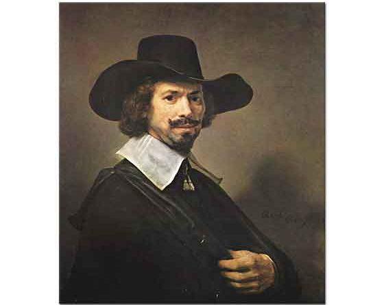 Rembrandt Hendrick Martensz Sorgh'un Portresi