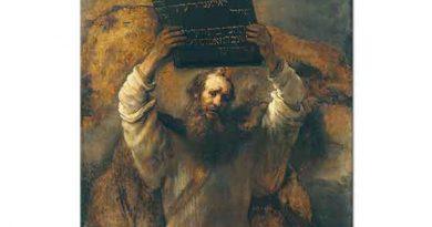 Rembrandt Hz Musa ve On Emir Tableti