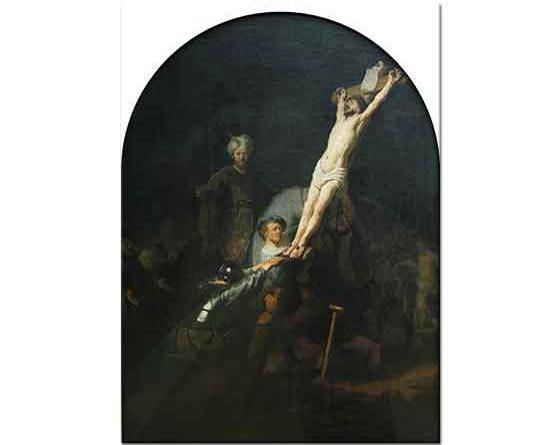 Rembrandt Isa'nın Çarmıha Gerilmesi