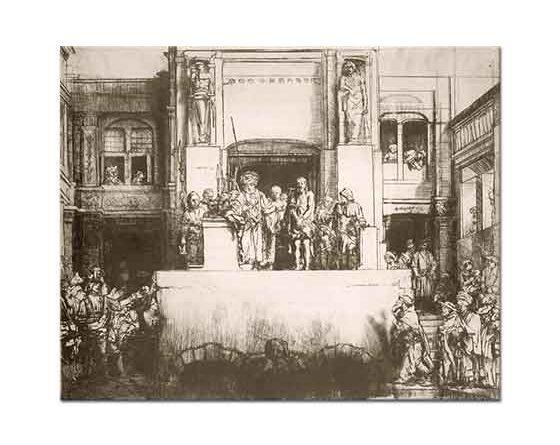Rembrandt Isa'nın Halk Önüne Çıkarılması