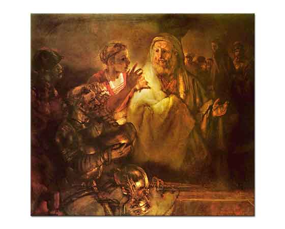 Rembrandt Isa'yı inkar Eden Peter