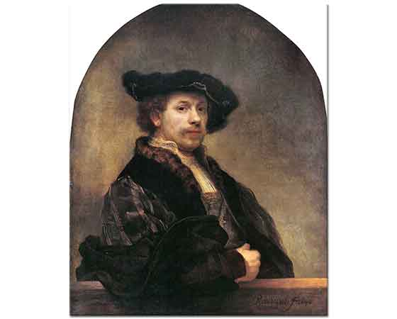 Rembrandt Kendisinin Portresi
