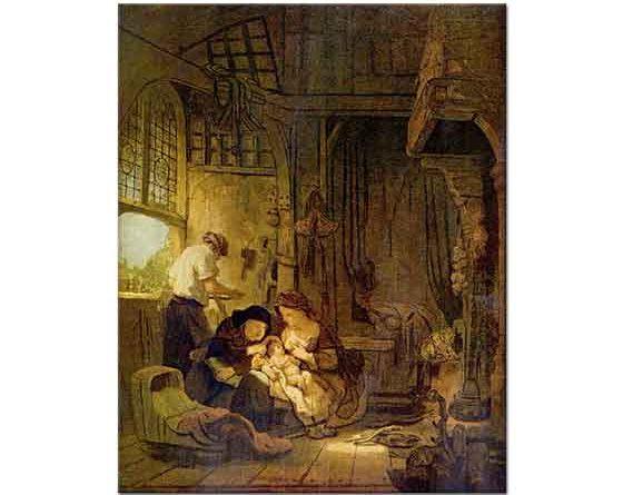 Rembrandt Kutsal Aile