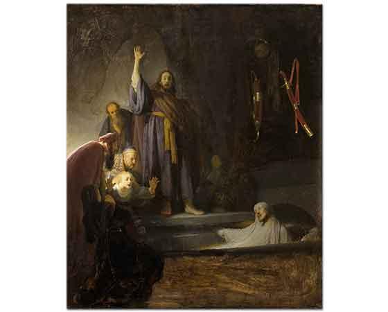 Rembrandt Lazarus'un Dirilişi