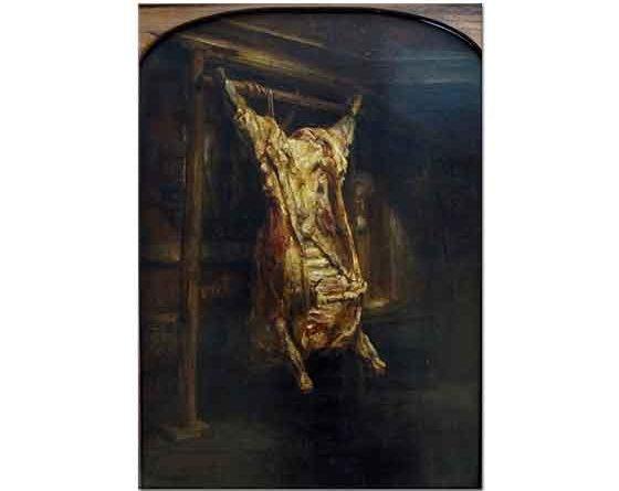 Rembrandt Mezbahada